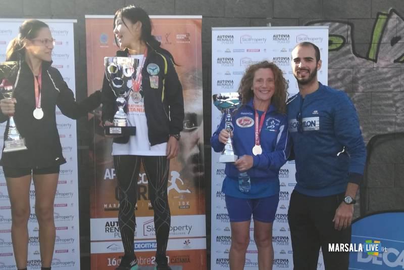 - Atl. - Matilde Rallo sul podio a Catania