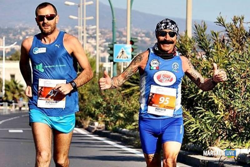 - Atl. - Michele D'Errico alla maratona di Catania