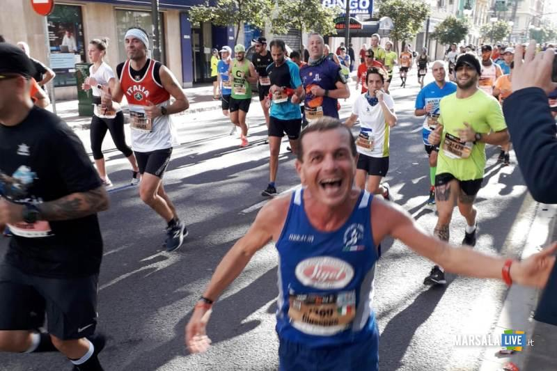 - Atl. - Peppe Mezzapelle alla maratona di Valencia