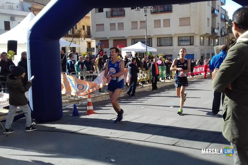 - Atl. - arrivi alla Mezzamaratona di Ribera
