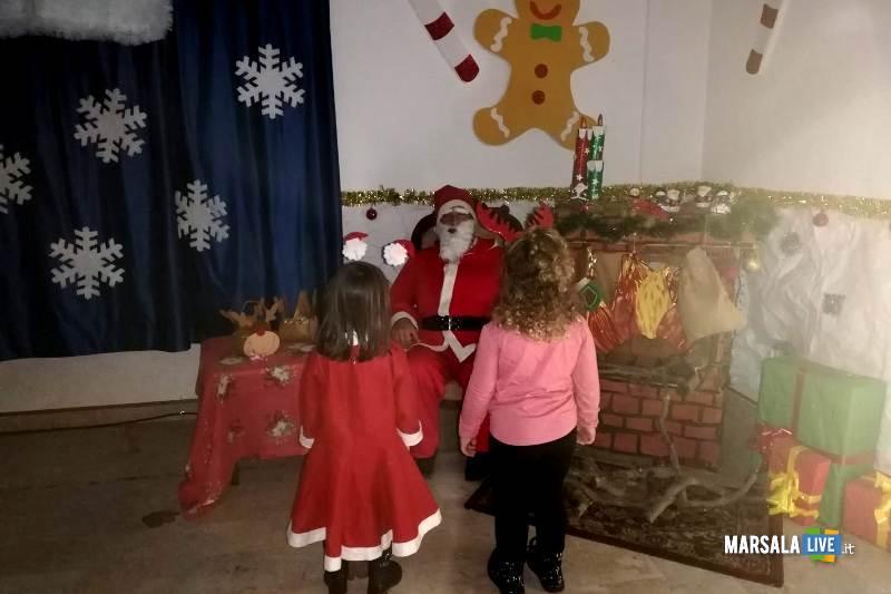 Babbo Natale plesso Ventrischi infanzia V Circolo Marsala 2018 (1)