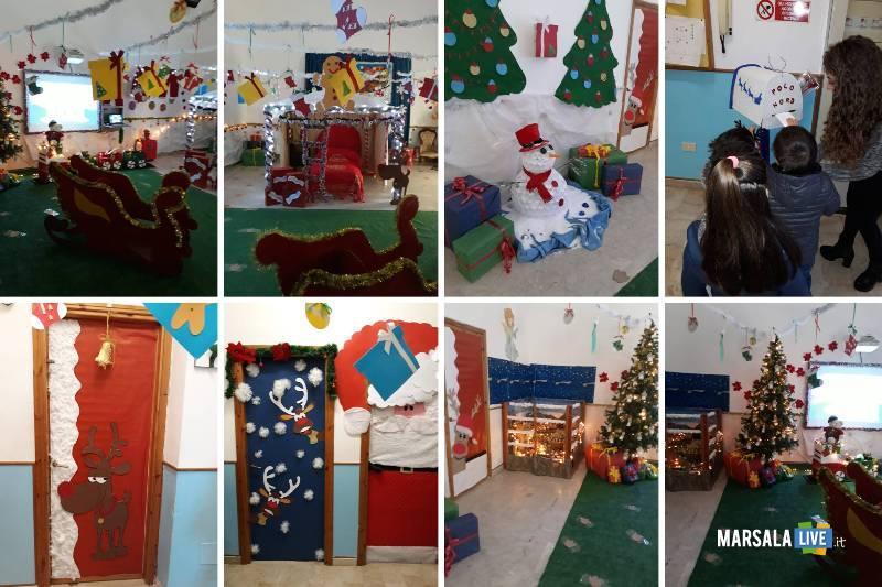 Babbo Natale plesso Ventrischi infanzia V Circolo Marsala 2018 (2)