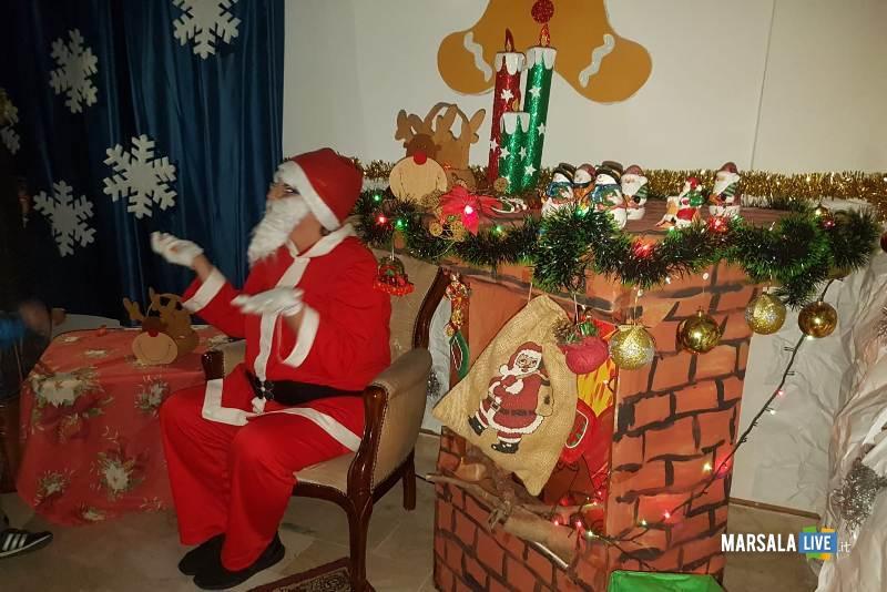 Babbo Natale plesso Ventrischi infanzia V Circolo Marsala 2018 (3)
