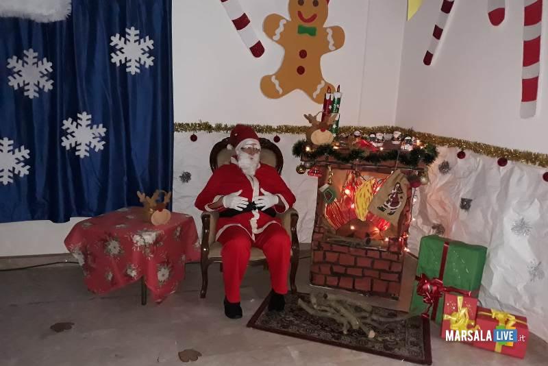 Babbo Natale plesso Ventrischi infanzia V Circolo Marsala 2018 (4)