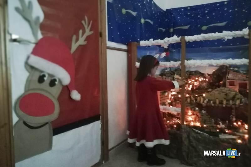 Babbo Natale plesso Ventrischi infanzia V Circolo Marsala 2018 (5)