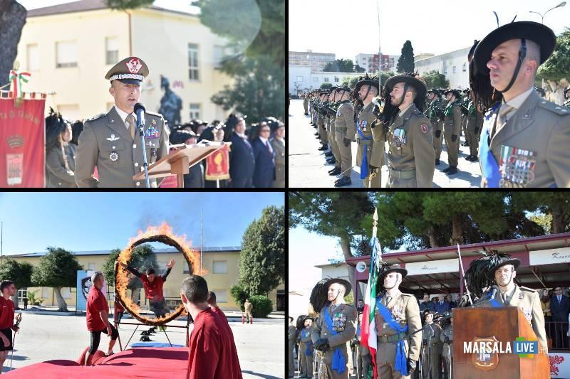 Cambio al Comando del 6° Reggimento Bersaglieri di Trapani