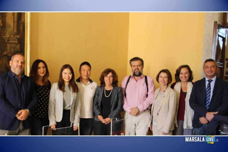 Delegazione di Marsala in Cina