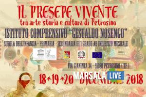 LOCANDINA PRESEPE VIVENTE - Nosengo Petrosino