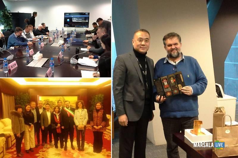 Marsala in Cina, incontro a Pechino