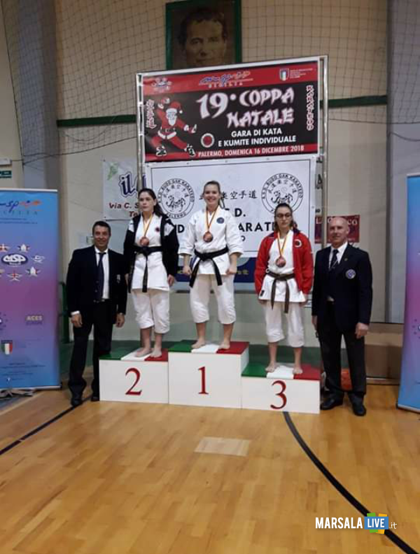 Shotokan Karate-do Club di Marsala palermo coppa Natale