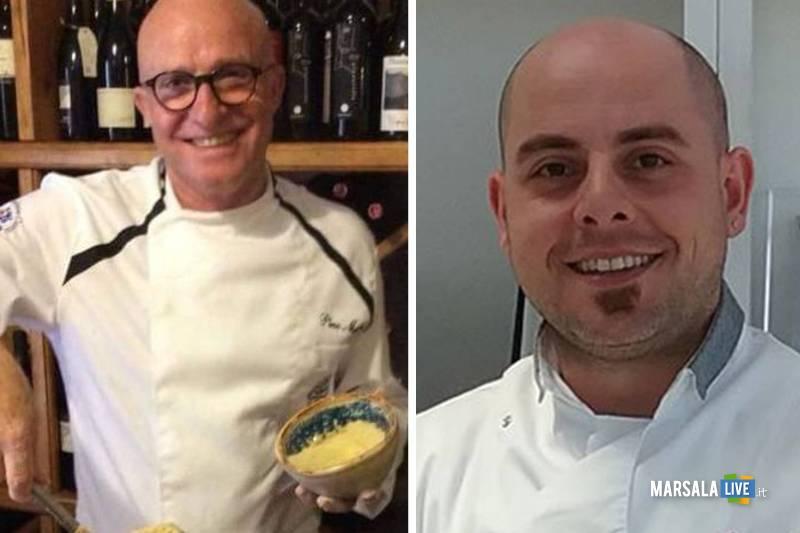 chef Gianni Zichichi e Pino Maggiore