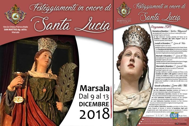 festa santa lucia a Marsala 2018
