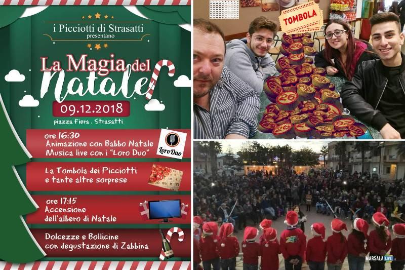 la magia del natale 2018 strasatti, i Picciotti - Marsala