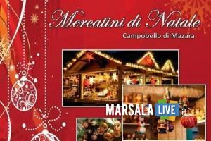 locandina mercatini di natale 2018 campobello di mazara