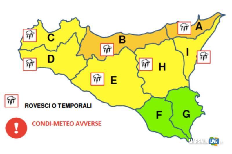 meteo sicilia dicembre 2018