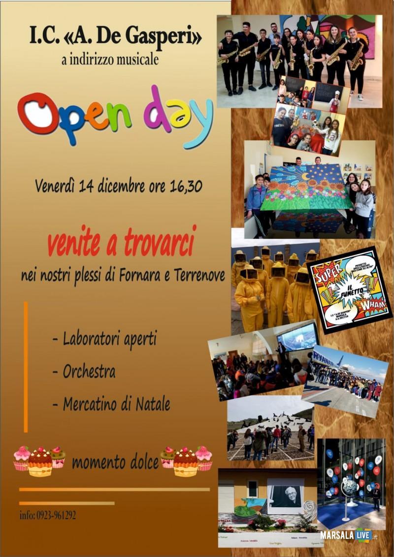 open day, alcide de gasperi 2018Marsala