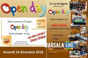 open day, alcide de gasperi Marsala