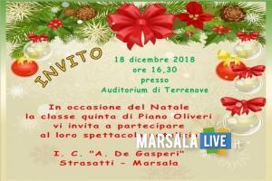 piano oliveri, natale 2018 - Marsala