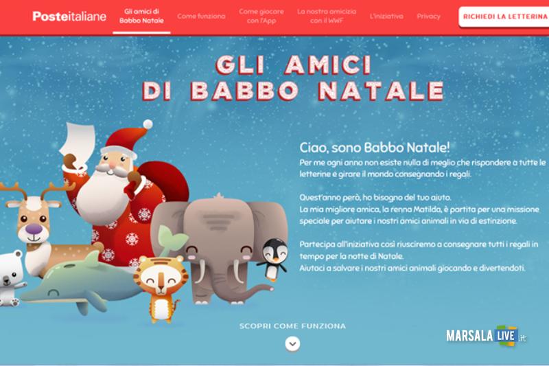 poste italiane, lettera a babboi natale