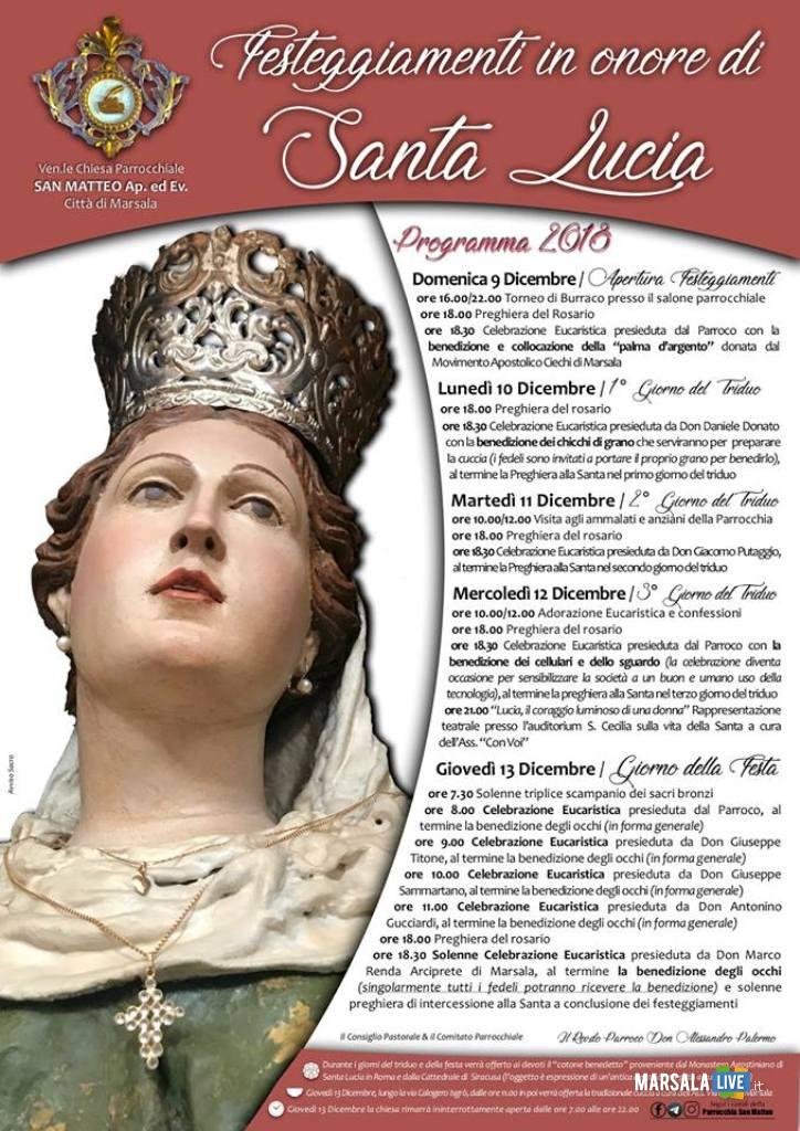 santa lucia a Marsala 2018