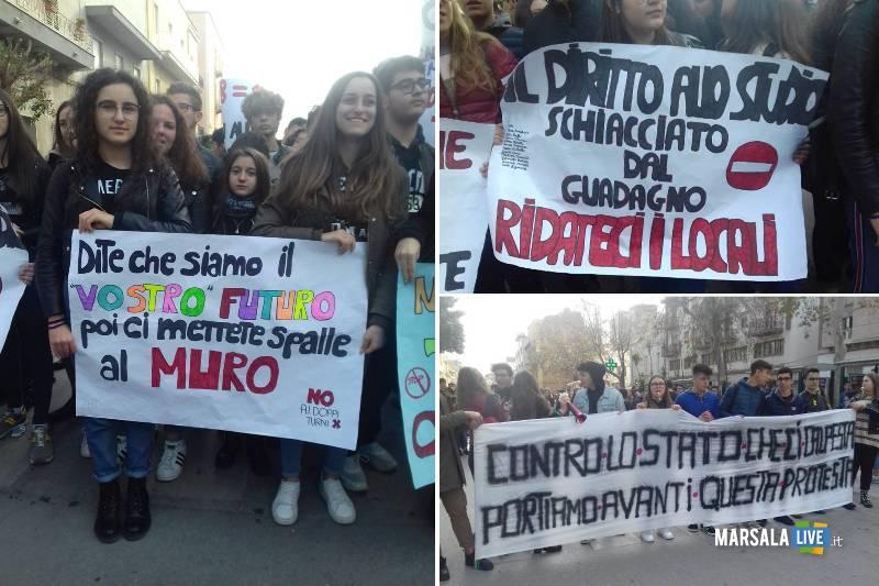 sciopero studenti scuole marsala (1)