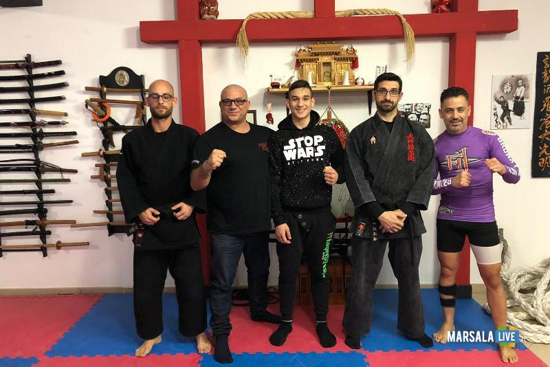 team del Fight club marsala