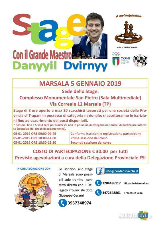 Danyyil Dvirnyy, scacchi Marsala