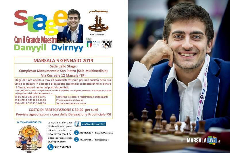 Danyyil Dvirnyy, scacchi - Marsala