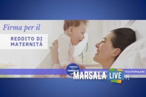 Marsala, raccolta firme proposta di legge reddito di maternità