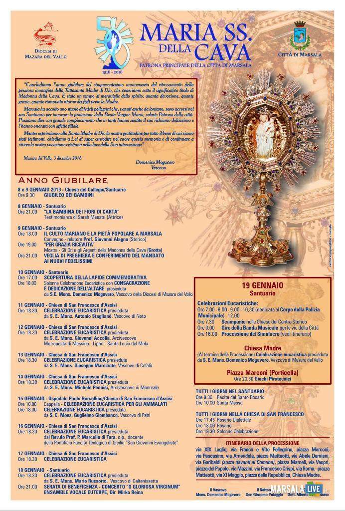 Programma Madonna della Cava