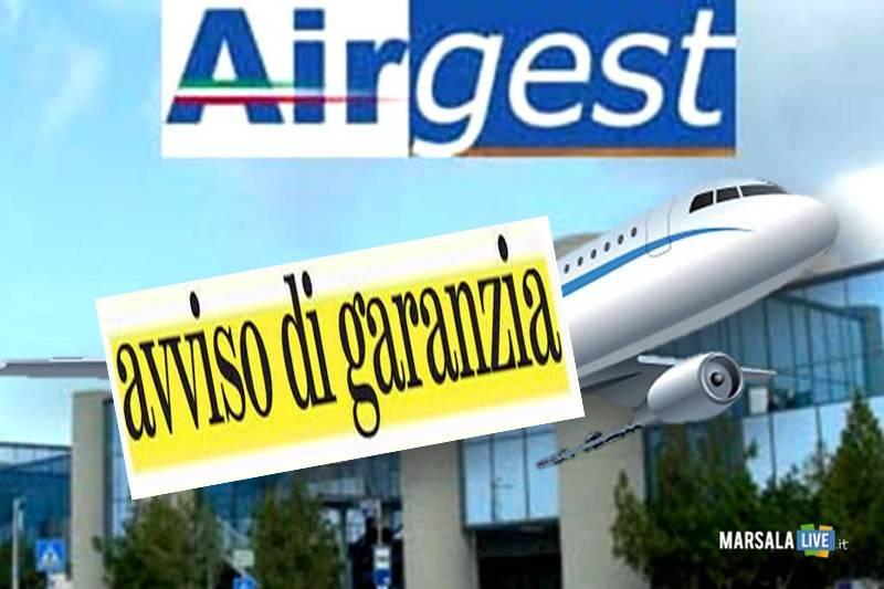 airgest, avviso di garanzia - Birgi