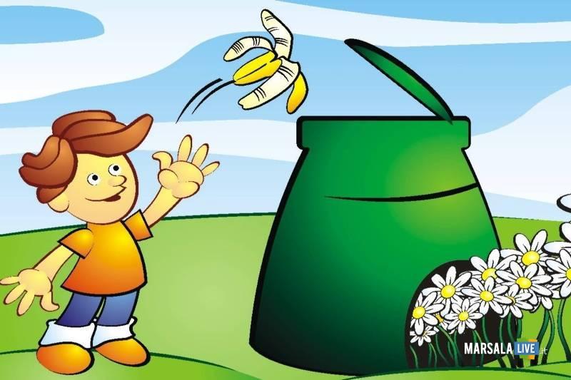 compostaggio domestico - spazzatura