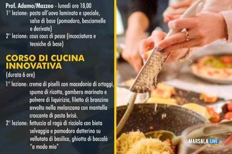 corsi di cucina alberghiero erice