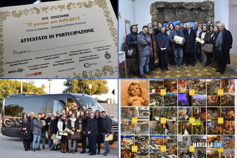 il presepe più bello 2018, premiazione concorso - Marsala