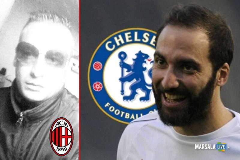 Higuain-Chelsea, tifosi del Milan irridono il Pipita: #HiguainIsBReady