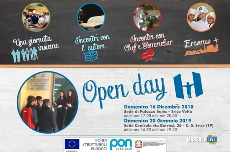 open day alberghiero erice