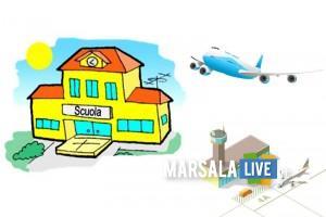 scuola e aeroporto