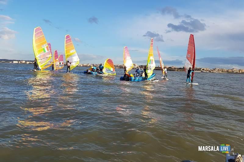 squadra olipica windsurf RSX