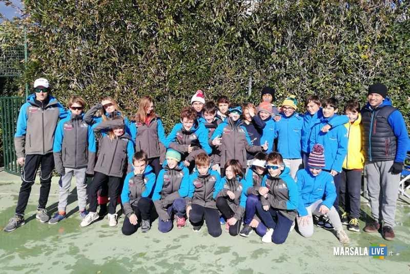 squadre Optimist di Mandello (Lago di Como) e soc Canottieri Marsala