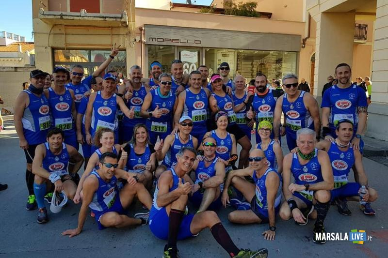 - Atl. - Atleti Pol. Marsala Doc alla Mezzamaratona di Sant'Agata di Militello -