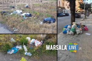 FOTO DELLA NUOVA RACCOLTA DIFFERENZIATA A MARSALA