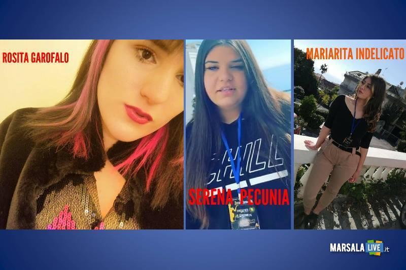 Maria Rita Indelicato, Serena Pecunia, Rosita Garofalo