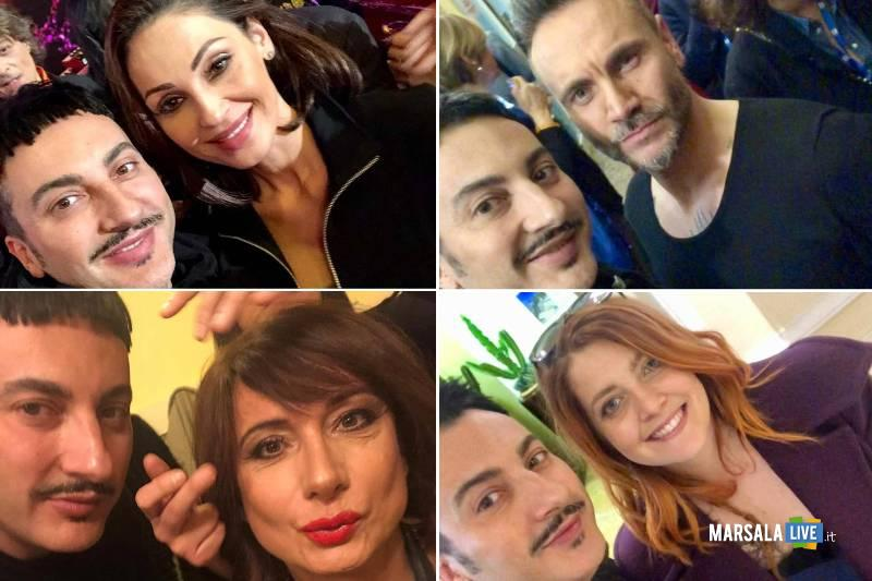 Nino Grammatico hair e make up designer a Sanremo
