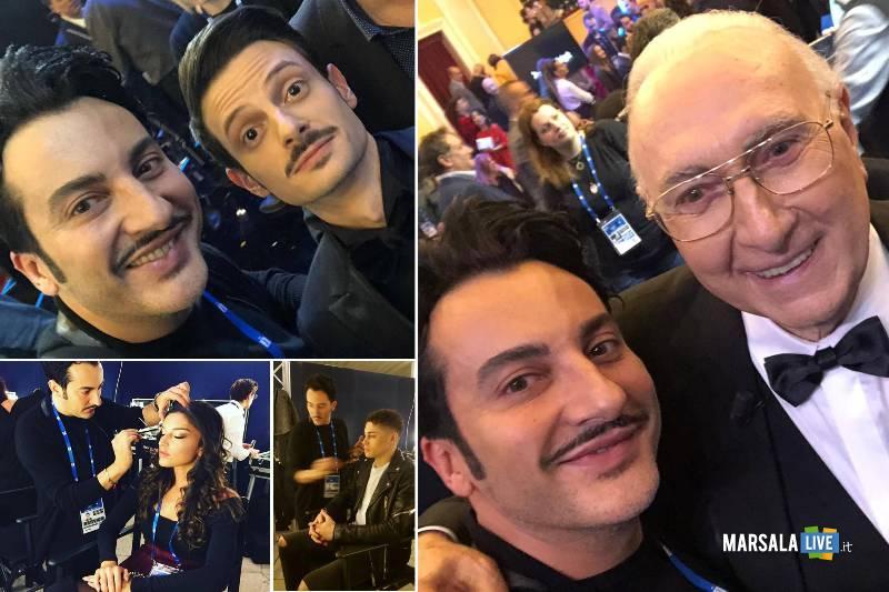 Nino Grammatico, hair e make up designer, a Sanremo
