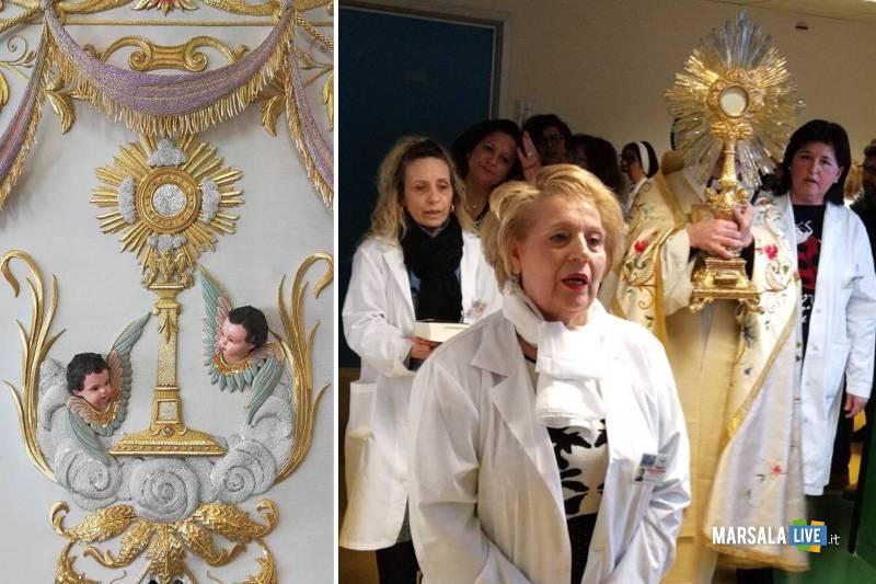 Quarantore nella Cappella dell_Ospedale di Mazara del vallo