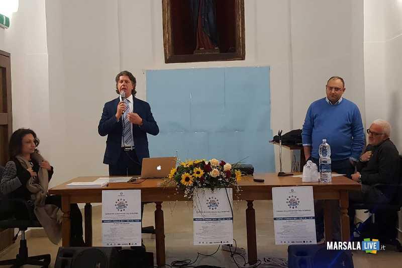 intervento Sindaco Giuseppe Castiglione seminario Non Cadere nella trappola addolorata 05.02.2019
