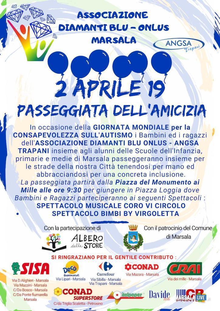 2 aprile 2019 - Giornata Mondiale per la Consapevolezza Autismo