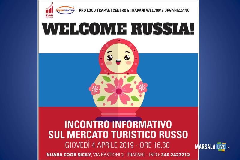 Accoglienza turistica, il 4 aprile incontro informativo Welcome Russia