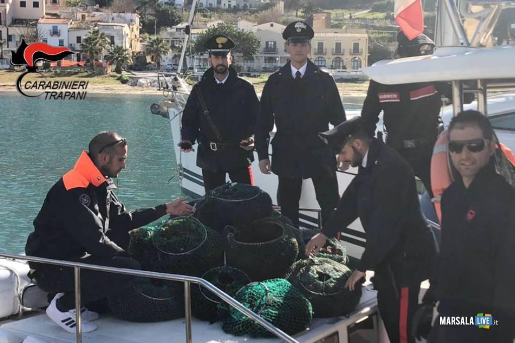 Carabinieri e Capitaneria di Porto - Ricci di mare