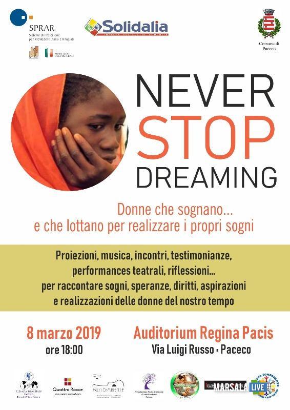 Donne che sognano... e che lottano per realizzare i propri sogni 2019